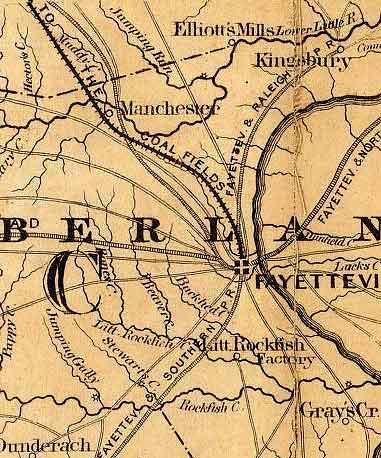 Maps Of Upper Caper Fear Region